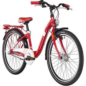 s'cool chiX 24 3-S Acier Enfant, red